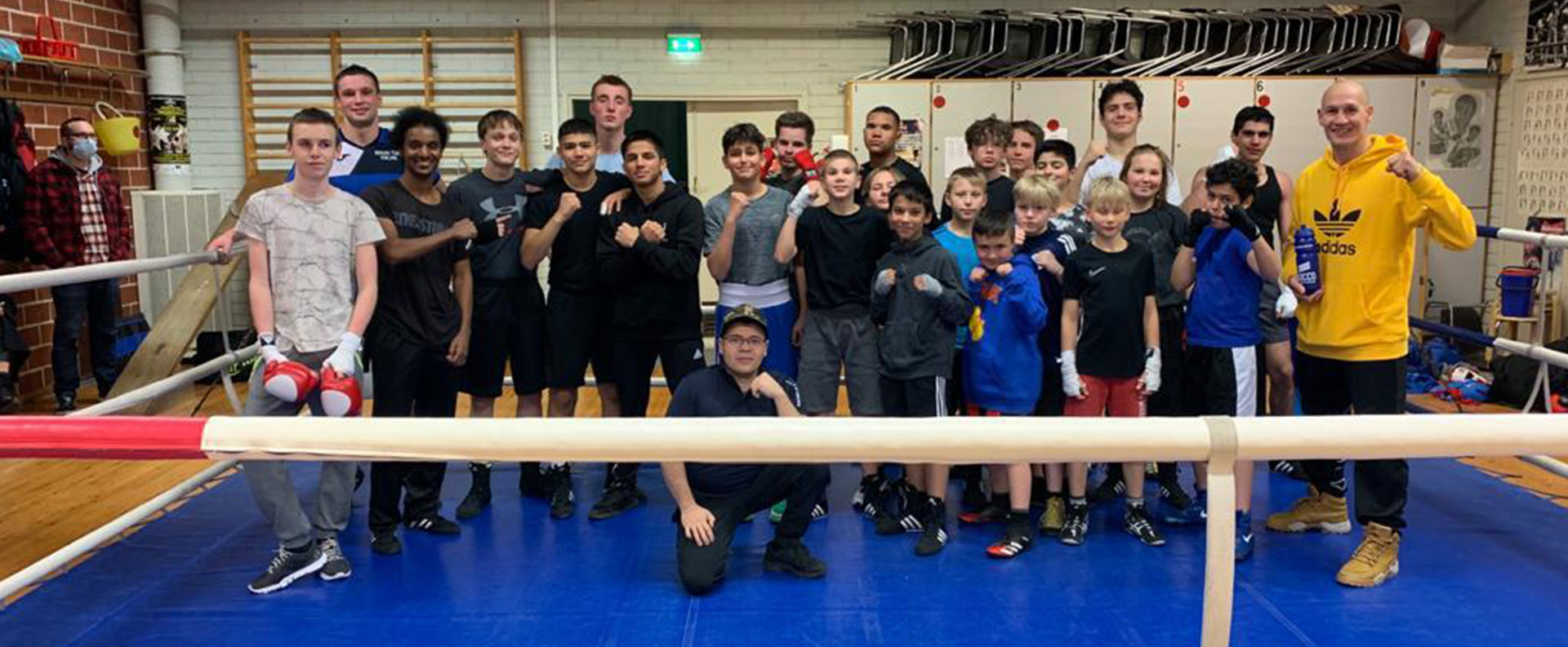 Boxing CLub Helsinki - nyrkkeilysali